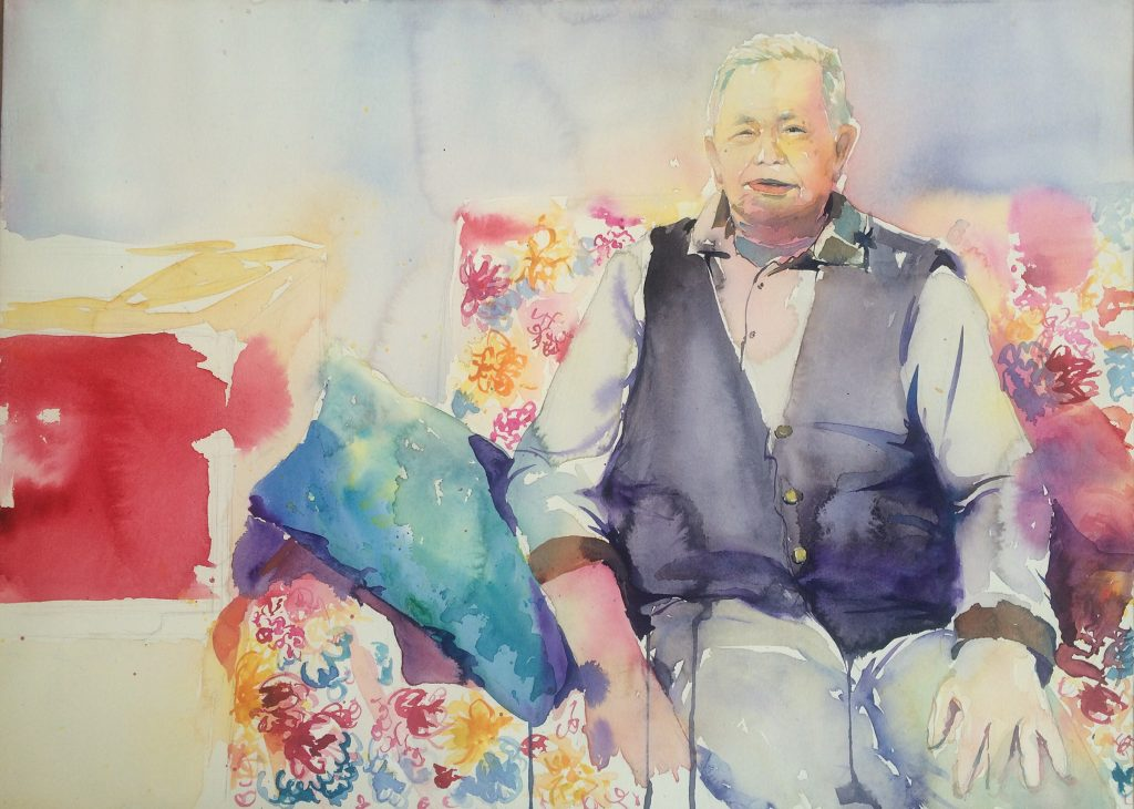 Xiaoyan Zhao, Grandfather, the loss of memory,22.5_30,2015