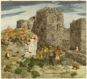 """Turistas"" 1976 © Frederic Whitaker 22x24.5 inches Watercolor"