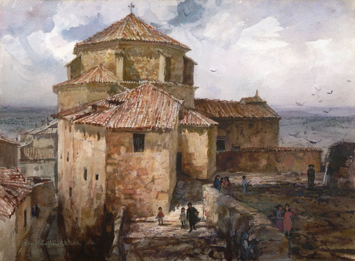 """Cuenca Spain"" 1965 © Eileen Monaghan Whitaker 22x30 inches"