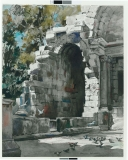 Temple-Of-Diana-Nimes-France-1955-22x27