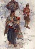 """Nahuala"" 1991 © Eileen Monaghan Whitaker N.A.  22x16 inches Watercolor"