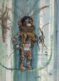"""Kachina Chayeyo""1984 © Eileen Monaghan Whitaker 30x22 inches"