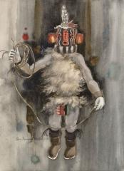"""Kachina Sikya Heheya ""© Eileen Monaghan Whitaker (date and size unknown)"