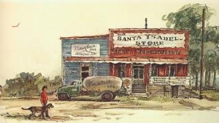 """Santa Ysabel Store"" © Eileen Monaghan Whitaker N.A. Watercolor"