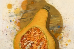 """""""Butternut 1995 © Eileen Monaghan Whitaker N.A. 20x22.5 inches Watercolor"""