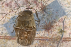 """""""The Honey Pot"""" 1982 © Eileen Monaghan Whitaker N.A. 22x30 inches Watercolor"""