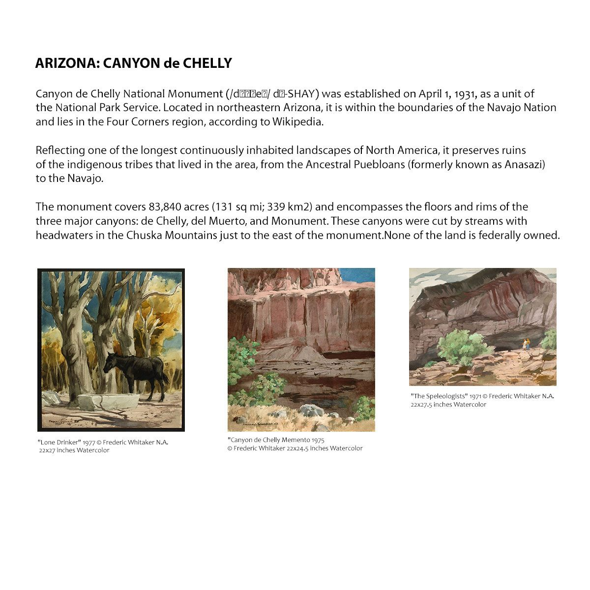 Arizona: Canyon de Chelly