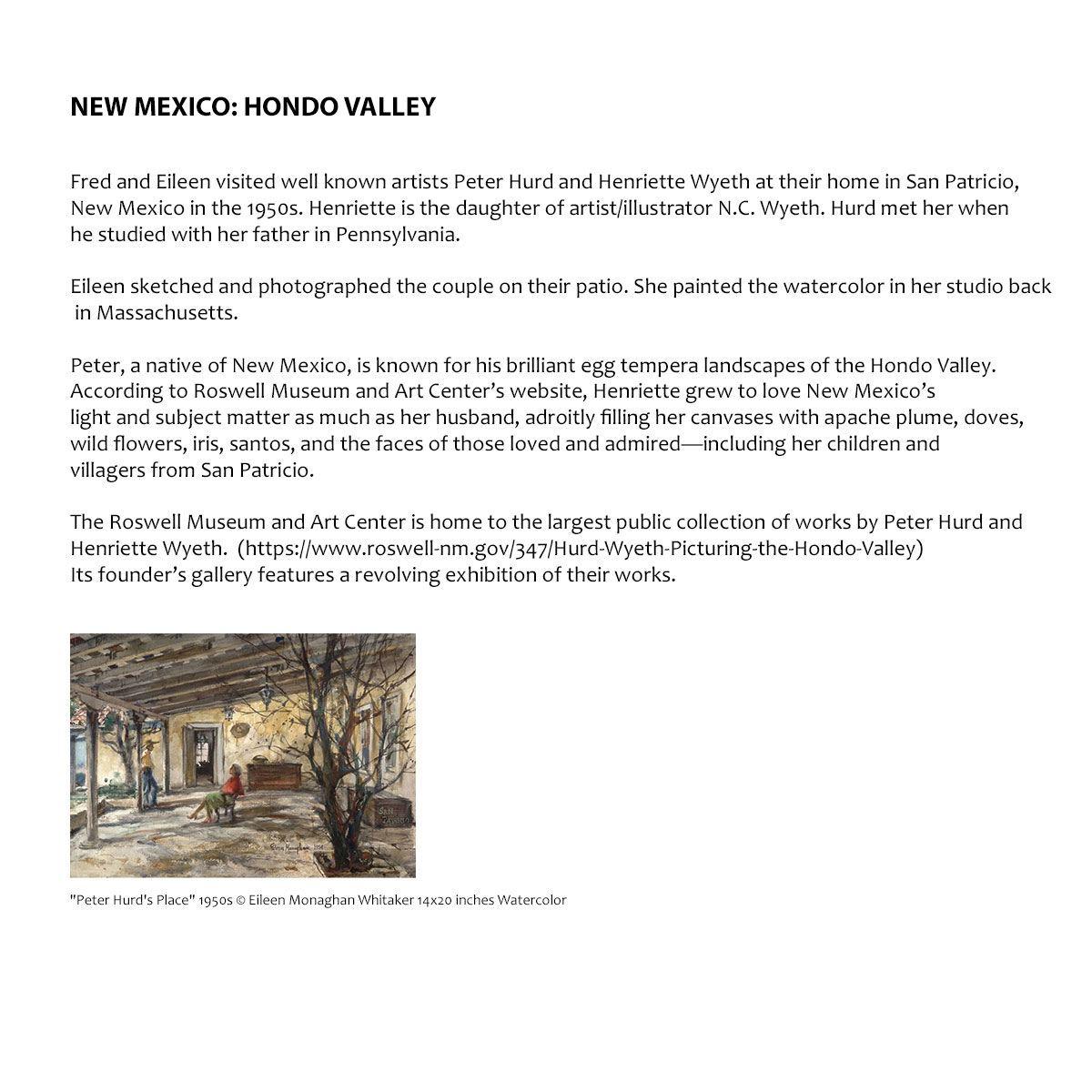 New Mexico: Hondo Valley