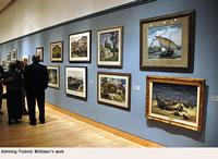 Admiring Frederic Whitaker's work