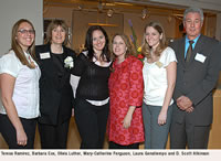 Teresa Ramirez, Barbara Cox, Olivia Luther, Mary-Catherine Ferguson, Laura Genatiempo and D. Scott Atkinson