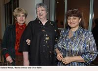 Barbara Menzie, Marsha Umbour and Sfona Pelah