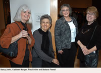 Nancy Javier, Kathleen Morgan, Risa Gettler and Barbara Finwall