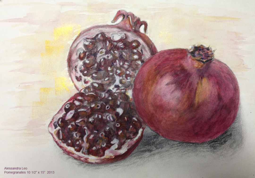 pomegranate 10.5x15 2013sized